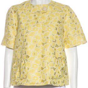 Vera Wang Lavender Label Printed Evening Jacket